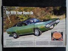 1971 Plymouth GTX  - 6 Page Article - Free Shipping
