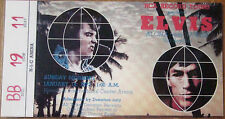 ♫ ELVIS PRESLEY 1972 - 1977 Repo Concert Tickets 11 different tickets ♫