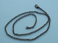 "UK Wholesale Jewellery 48 Pcs 18"" Antique Bronze Style Pendant Necklace Chain"