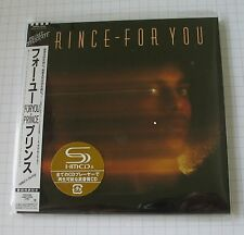 PRINCE - For You JAPAN SHM MINI LP CD OBI NEU! WPCR-13530