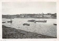 Loire mit Hafen Nantes Frankreich