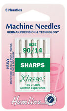 Size 90/14 - Sewing Machine Needle - Klasse SHARP Needle - Pack 5