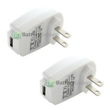 2 USB White Wall AC Charger Adapter for Apple iPhone 2 3 3G 3GS 4 4G 4S 5 5G 5S