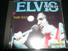 Elvis Presley Pure Gold Rare Australia (Rainbow Records) CD RCD1113