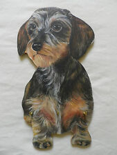 WIRE HOUND DACHSHUND DOG WALL HANGING KEY RACK. NEW. KEYRACK