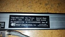 NEW RSF ELECTRONICS MSA6508  LINEAR SCALE ML770MM INTERVAL 40MM PN:C04460741739