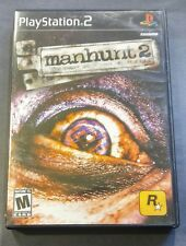 Manhunt 2 (GOOD CONDITION & COMPLETE W/ MANUAL) Sony PlayStation 2 PS2 RARE Game
