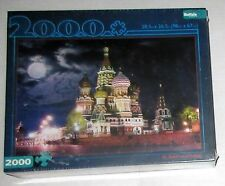ST BASIL'S CATHEDRAL Russia 2000 Piece JIGSAW Puzzle Factory Plastic Sealed NEW