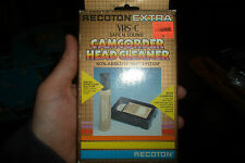 Philips VHS VCR Head Cleaner kit Video Tape wet system NEW For VCR + Camcorders