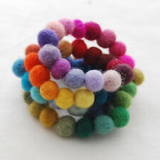 100% Wool Felt Balls - 1cm - 60 Count - 60 Colours