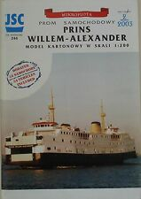 Prins Willem Alexander car ferry - JSC  #244 1/200.