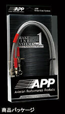 APP STAINLESS BRAKE LINE FOR Legacy (Liberty) BE5 (EJ206) SB006B-SS