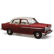 HOLDEN FE SPECIAL CASCADE WHITE OVER ETNA MAROON 60TH ANNIVERSARY 1:18
