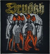 DRUDKH - Eastern Frontier In Flames - Woven Patch / Aufnäher