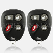 2 Replacement For 2001 Chevrolet Malibu Key Fob Remote
