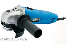 Draper 51747 Angle Grinder 500W 115mm 230v Heavy Duty Cutting Grinding Tool