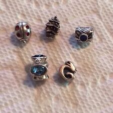 Authentic Chamilia Lot Of 5 Charms