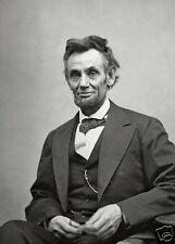 ( Lot of 2 )  5 x7 Photo Picture President Abraham Lincoln Portrait
