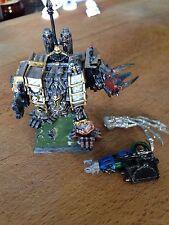 Warhammer 40k Chaos Dreadnought Iron Warriors Hellbrute OOP