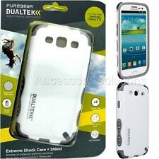PureGear Samsung Galaxy S3 Dualtek Extreme Impact Rugged Case Cover White
