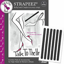 Braza Talk To The Heel Women's Strapeez High Heel Strap Comfort Pad Strips 94008