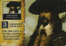 PIRATES OF THE SPANISH MAIN - SC002 COMMANDANTE LUIS DE ALVA