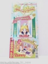 NEW Vintage Sailor Moon TOP MODEL Paper Doll Serena's Bedroom Games