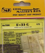 CMK 1/72 P-39Q Interior Set for Academy # 7006