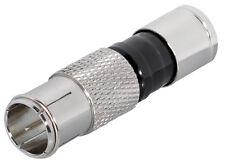 Quick F-Kompressionsstecker (40 Stück) für Kabel-Ø 6,8 - 7,4 mm