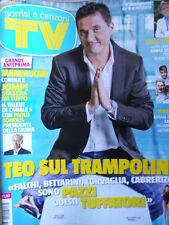 TV Sorrisi e Canzoni n°20 2013 Renzo Arbore Teo Mammucari Enrico Ruggeri  [D17]