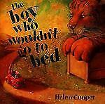 The Boy Who Wouldn't Go to Bed-ExLibrary