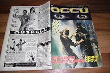 OCCU  #  6 -- der WÜRGER aus dem NIRWANA // von HENRY GHOST