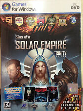 NEW*SEALED PC GAME SINS OF A SOLAR EMPIRE TRINITY EDITION (PC) (DVD) BRAND NEW