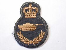 Canada Canadian Armed Forces trade Armoured Tank qualification badge Level 4 grn