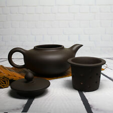 Large Purple Clay 600ml Teapot Tea Sets Separate Tea Filter Big Yards