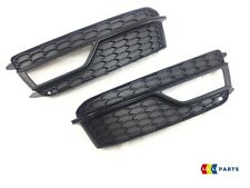 AUDI A5 2013-2015 NEW GENUINE FRONT BUMPER FOG LIGHT GRILL PAIR LEFT AND RIGHT