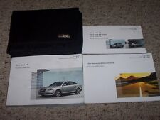 2011 Audi A6 & A6 Quattro Factory Original Owner's Owners User Manual Set
