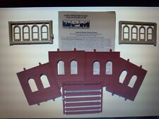 DPM Dock Level Arch Window HO Scale Building Kit Model Trains Diorama #30103