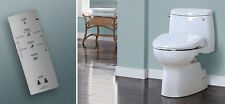 """TOTO"" S300E-SW573 WASHLET ROUND CONTEMPORARY STYLE WITH EWATER+"