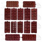 Various Chocolate Mould Fondant Cake Ice Soap Cube Tray Candy Silicone Mold