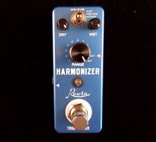 ROWIN LEF-3807 MINI HARMONIZER EFFECT PEDAL FOR GUITAR WITH TRUE BY PASS