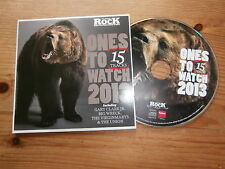 Classic Rock Ones To Watch CD 2013 Big Wreck RNDM Diagonal Virginmarys Crowns