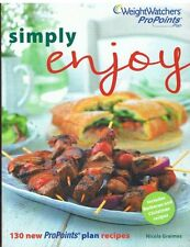Weight Watchers Simply Enjoy Summer 2011 Pro Points cookbooks By Nicola Graimes