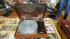Linn Sondek LP12 Transciption Turntable Smoked Lid Top Early Model