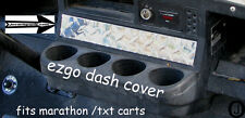 Ezgo Golf Cart  Diamond Plate  Dash Cover!!!