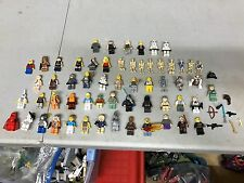 LOT 50+ LEGO STAR WARS MINIFIGS + Accessories +  Figures People Legos