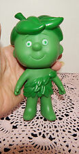 VINTAGE 1972 JOLLY GREEN GIANT SIDEKICK LITTLE SPROUT DOLL RUBBER TOY~45 YRS OLD