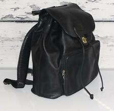 COACH~LARGE~LEATHER~LEGACY~SATCHEL~TRAVEL BACKPACK BAG~DRAWSTRING PURSE #0547