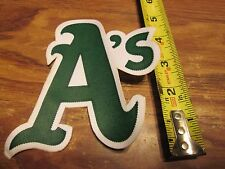 OAKLAND A`S JERSEY PATCH 5 INCHES TALL  SWEET