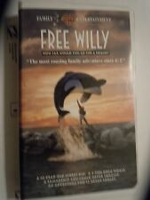Free Willy (VHS, 1993) Warner Brothers. Michael Jackson video- Will you be there